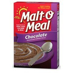 Malt O Meal Chocolate Quick Cooking Hot Wheat Cereal 36oz Box Pack of 2