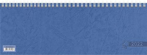Glocken Querkalender Querterminbuch, 1 Woche/ 2 Seiten 297 x 105 mm, Karton, grau