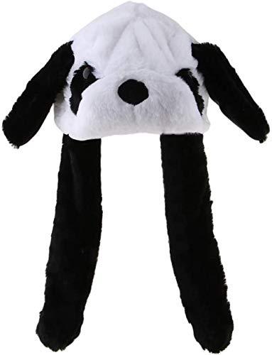 Pluche Panda Hat Dancing Ear Flap Hoed met Paw Cartoon schattige dieren Knuffels