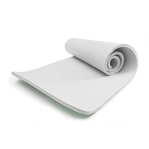 World Fitness »Yogini« Fitnessmatte 183 x 61 x 1 cm Weiß