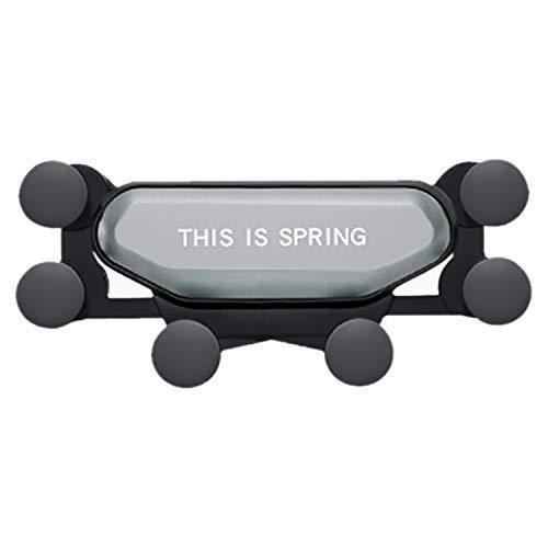 Autotelefoon houder Universele Gravity autohouder for Telefoon In Car Air Vent Clip Mount Geen Magnetic Mobile Phone Holder GPS Stand (Kleur: Zwart) Het is veiliger om de telefoon met de auto te bean