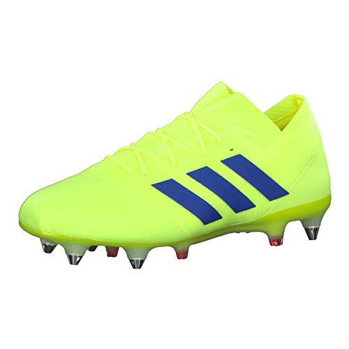 adidas Herren Nemeziz 18.1 Sg Fußballschuhe, Mehrfarbig (Amasol/Fooblu/Rojact 000), 46 2/3 EU