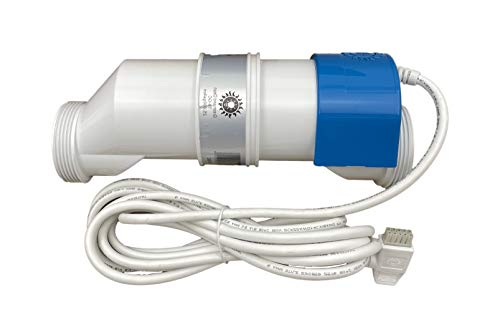 Nu Cobalt NC-25C Salt Water Chlorinator Cell with Stand and O-Ring. NC-25C Replaces Cell for Chlorinator System for Swimming Pool of 25,000 gallons of Water and Carries Two Years USA Warranty