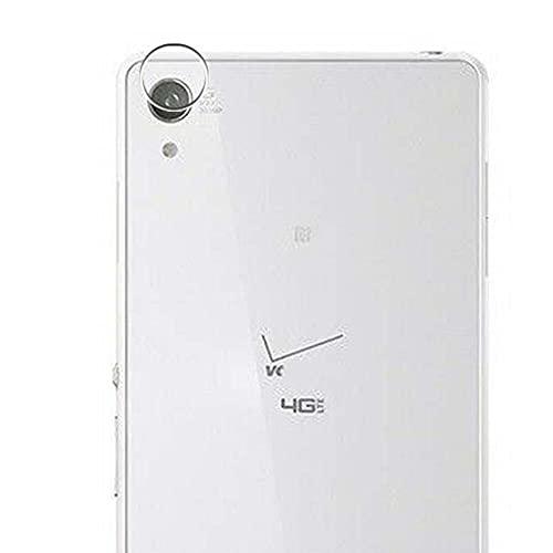 Vaxson 2 Unidades Protector de Lente de Cámara, compatible con Sony Xperia Z3v D6708 [No Vidrio Templado/Funda Case ] TPU Película Protectora