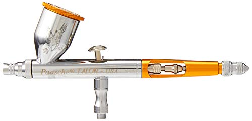 Paasche Airbrush TG#2L Double Action Gravity Feed Airbrush, Less Accessories