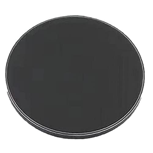 Tuimiyisou Cargador inalámbrico 20W Ultra-Delgado Inteligente de Carga rápida Superficie del Espejo del cojín Cargador Negro hábil Fabricación