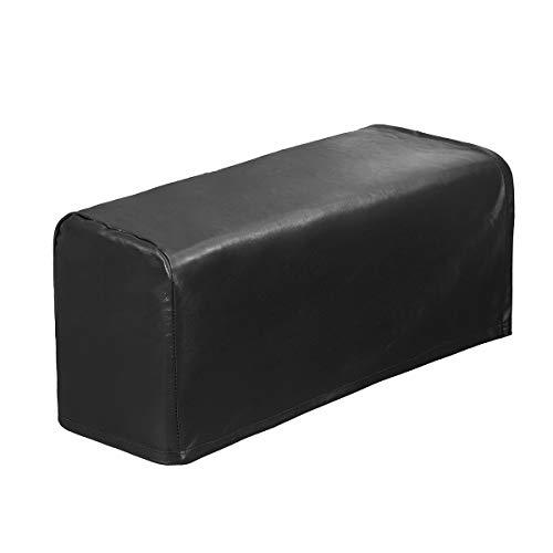 TOPWA 2er Set PU Leder Sofa Armlehnenbezug Anti-Rutsch Wasserdicht Möbel Armlehnenschutz Sessel Schonbezüge für Lehnstuhl Sofa Stühle