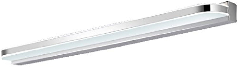 Spiegel-vordere Lampe Wasserdichte Anti-Nebel-Badezimmer-Spiegel-Lampen-Wand-Lampen-europische einfache moderne Kabinett-Lichter (gre   70cm)