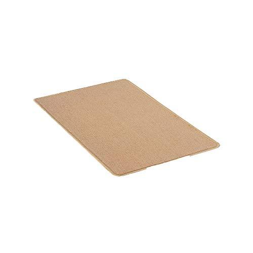 Tapis de Sol de Couleur Pure Tapis de Sol Anti-dérapant pour Une Chambre et Cuisine Tapis de Pied Absorbant respectueux de l'environnement paillasson