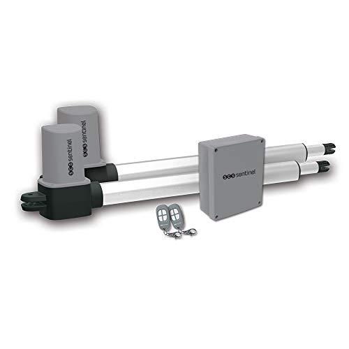 SCS Sentinel SCS1 STANDARD Hingend azionamento Gate-cancello Battente automazione-Portal Battere Motore Elettrico Verin standard-MVE0038, Grau