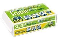 【まとめ買い】 スコッティ ペーパーふきん サッとサッと 400枚(200組) ×10個セット