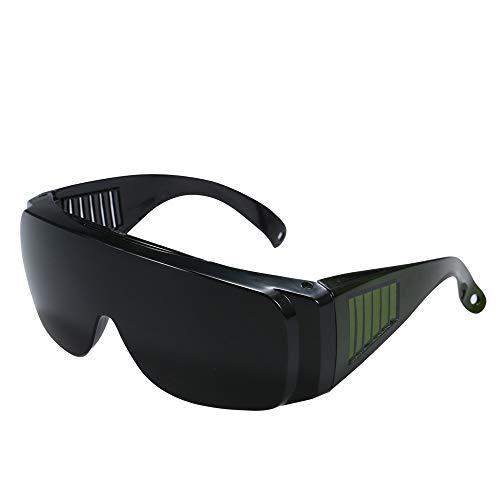 Docooler Goggle Schutzbrillen Winddicht Anti-Fog Anti-Staub-Brillen Windresistent Schutzabdeckung Arbeitsbrillen Für Industriearbeit Schwarz