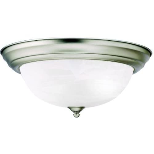 Kichler 8109NI Flush Mount 2-Light, Brushed Nickel - Flush ...