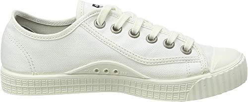 G-STAR RAW Damen Rovulc Denim Low Sneakers, Weiß (White 110), 39 EU