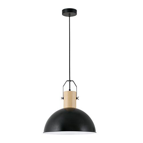 Faro Barcelona 68561 MARGOT Lampe suspension noire