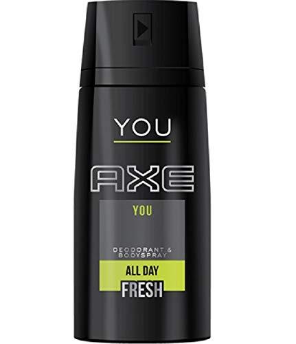 6* Axe Desodorante Spray Desodorante Body Spray 150Ml You All Day Fresh 6* 150ml