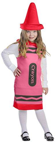Dress Up America Costume de Crayon rouge pour enfants