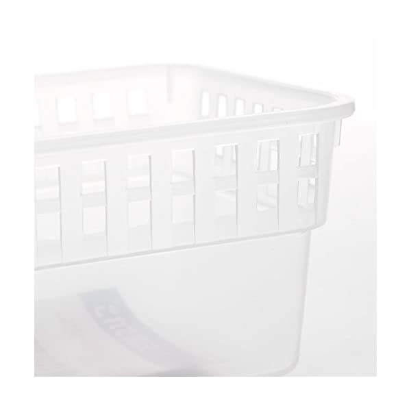 Bandejas de almacenamiento para frigorífico y congelador de cocina (3