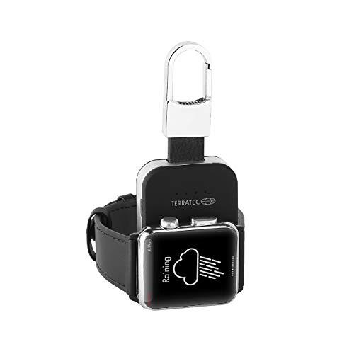 TerraTec ChargeAIR Key Apple Watch Powerbank Ladestation mobil. Kompatibel mit Apple Watch Series 6, SE (2020) / Series 5 / Series 4 / Series 3 / Series 2 / Series 1 / 44mm / 42mm / 40mm / 38 mm