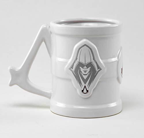 empireposter Assassins Creed - Tankard 3D - Mug Keramik Tasse gewölbt Becher - Ø11,5 H8,5 cm