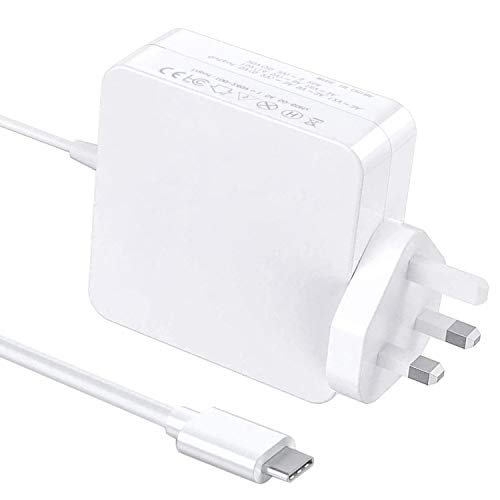 65W/61W USB Type C Power Adapter Charger for Apple Macbook Pro/Air, Works With USB-C 61W/30W/29W Power Delivery Fast Charging Compatible with Macbook Pro 13'' 15'' 2016Late MacBook Air 2018Late