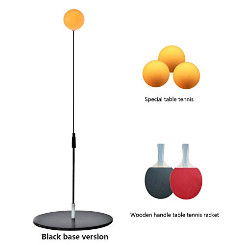 Save %7 Now! XWU Table Tennis Trainer with Flexible Rapid Rebound Device for Personal/Double Exercis...
