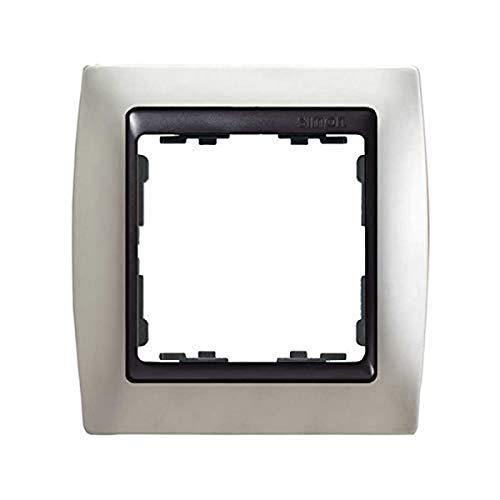 Simon - 82814-33 marco 1elem s-82 grafito metal noble alu mate Ref. 6558233157