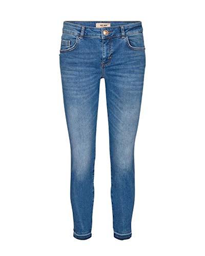 Mos Mosh Damen Jeans Sumner Decor Light Blue hellblau - 33