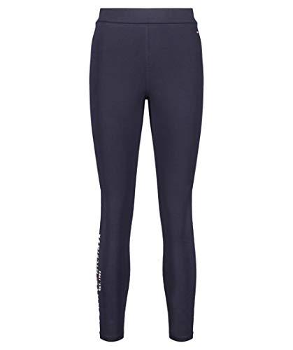 Tommy Hilfiger Damen Hilfiger Logo Legging Hose, Blau (Desert Sky), M