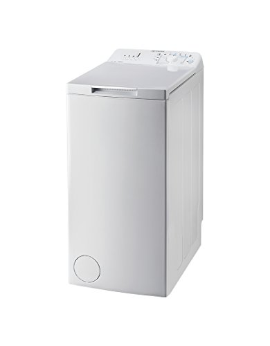 Indesit BTW A61052 (EU) Independiente Carga superior 6kg 1000RPM A++ Blanco - Lavadora (Independiente, Carga superior, Blanco, Arriba, 42 L, 6 kg)