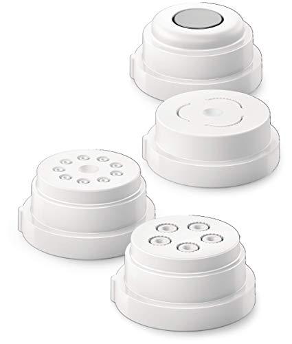 Philips Avance Pasta Maker 4in1 accessory shape kit Shells and Paccheri Rigatoni amp Macaroni
