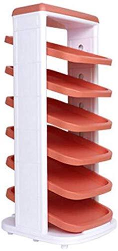 B-fengliu Sencillo y Moderno Multiuso Zapatero 360 Grados giratoria Locker