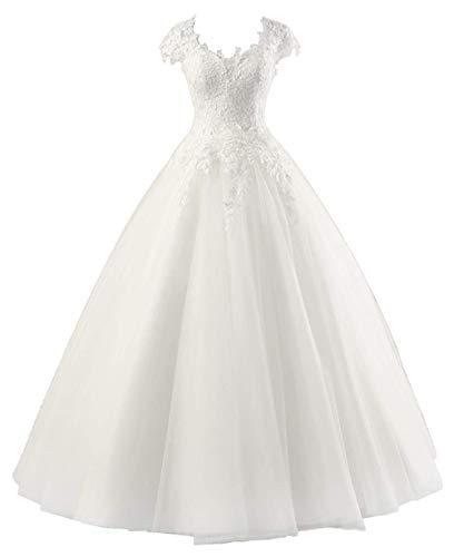 Vestido De Novia Con Escote en La Espalda Corte Princesa