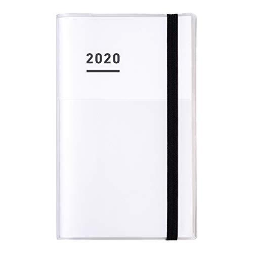 コクヨ ジブン手帳 mini ファーストキット 手帳 2020年 B6 スリム マンスリー&ウィークリー ホワイト ニ-JFM1W-20 2019年 11月始まり