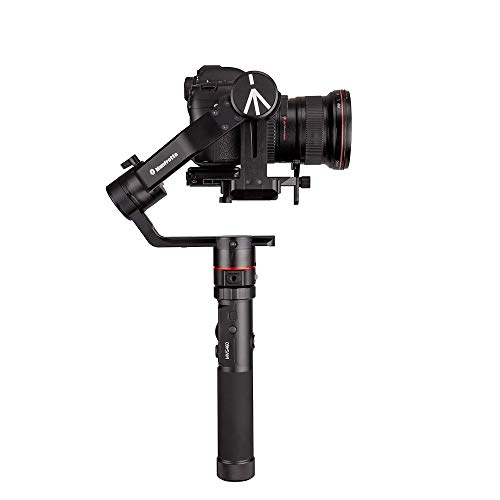 Manfrotto MVG460, Portable 3-Axis Professional Gimbal Stabiliser for Reflex Cameras, Ideal for Dynamic Filming, Holds up to 10.1 lbs, Perfect for Photographers, Vloggers and Bloggers