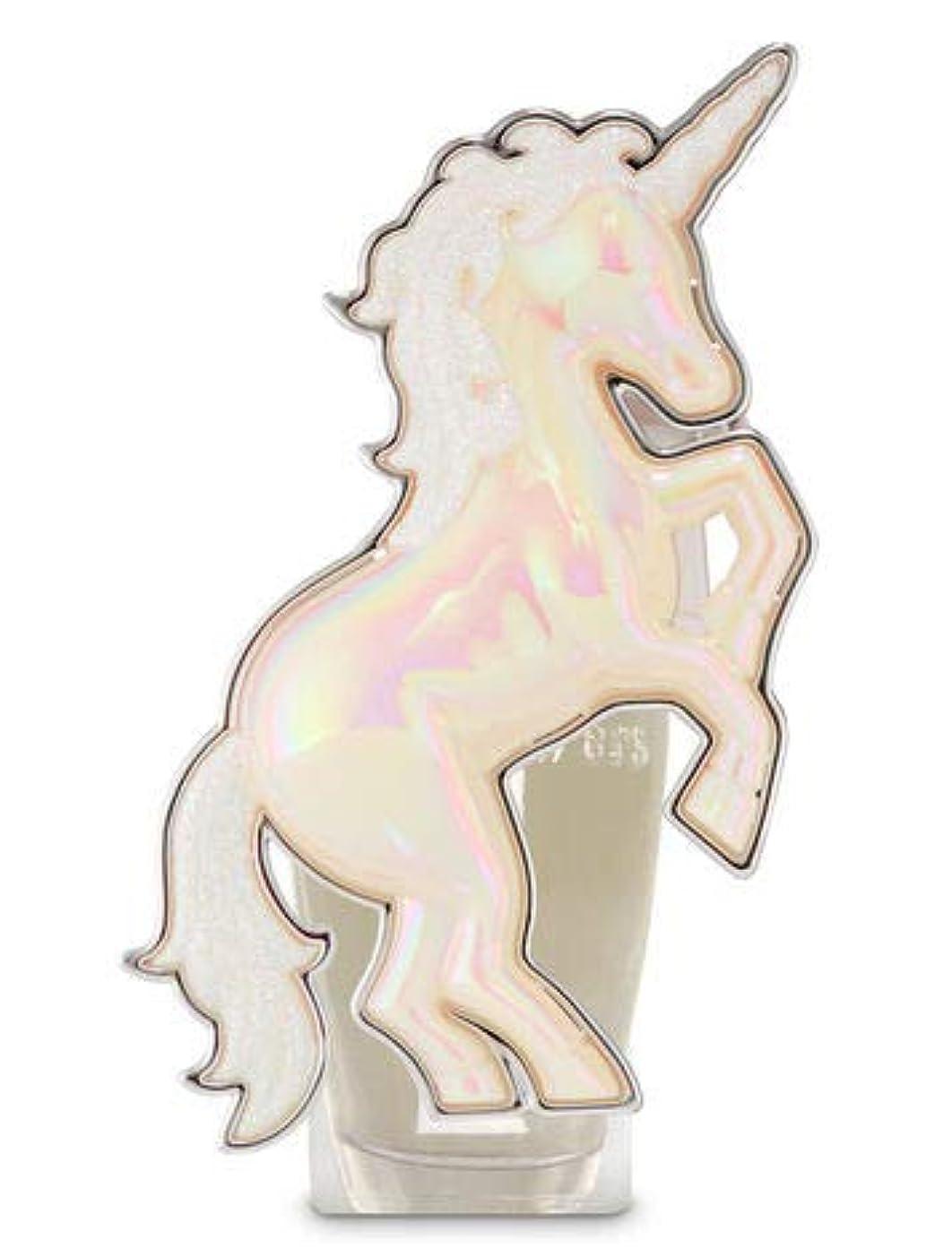 あからさま発掘する簡略化する【Bath&Body Works/バス&ボディワークス】 ルームフレグランス プラグインスターター (本体のみ) ユニコーン ナイトライト Wallflowers Fragrance Plug Unicorn Night Light [並行輸入品]