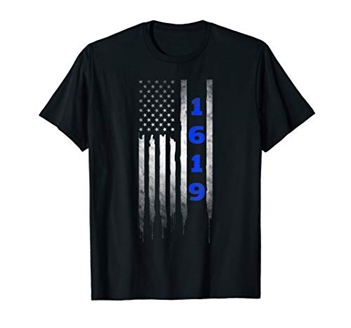 Project 1619 Our Ancestors American Flag T-Shirt