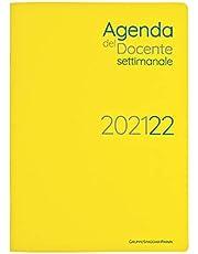 Agenda del docente settimanale, anno scolastico 2021/2022, con registro 9 classi, formato 19x27. Per chi pensa in digitale: pianifica, organizza, progetta