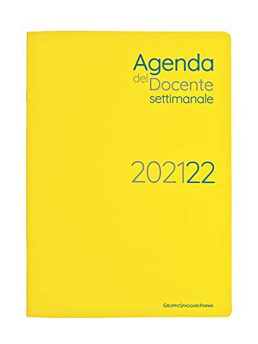 Agenda del docente settimanale, anno scolastico 2021 2022, con registro 9 classi, formato 19x27. Per chi pensa in digitale: pianifica, organizza, progetta