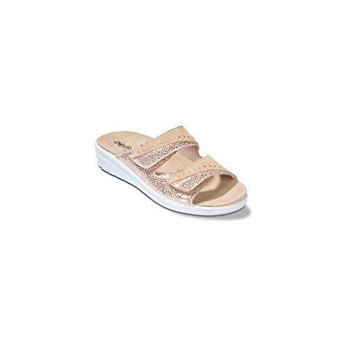 Melluso Q60204f - Donna - Walkciabatta, Pc.Tony.5896 Sand, 38