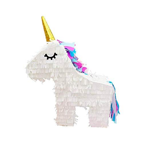 Pentolaccia a forma di unicorno da riempire – per le tue feste a tema unicorni, come gioco durante i compleanni dei bambini, gioco per i matrimoni o come decorazione alle feste a tema unicorno.
