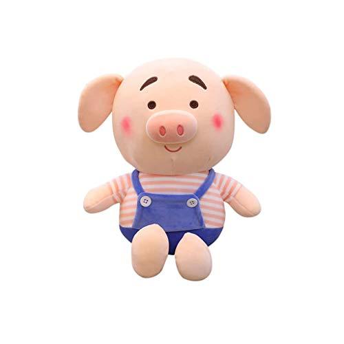 SMEJS Gianthairball Cerdo Almohadilla de la Felpa, Suave Piggy Que Abraza la Almohadilla Linda Divertida del Cerdo Relleno Animal del cumpleaños Juguetes de Navidad Novia Regalo