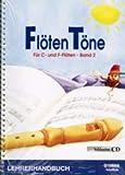 Yamaha Flöten Töne Band 2 inkl. CD - Lehrerhandbuch BFTLHBAND 210