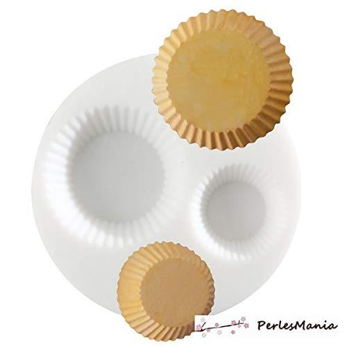 perlesmania.com 1 Mini Moule en Silicone Cupcake Creations FIMO SCULPEY CERNIT ref 284422