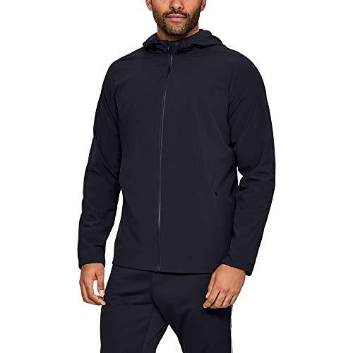 Under Armour Men's Recovery Sportswear Commuter Jacket, Black (001)/Black, X-Large