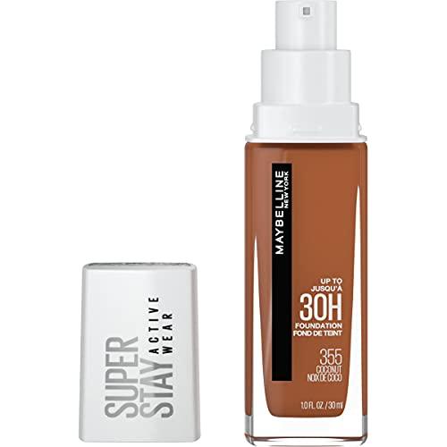 Maybelline Super Stay Full Coverage Liquid Foundation Makeup, Coconut, 1 Fl Oz