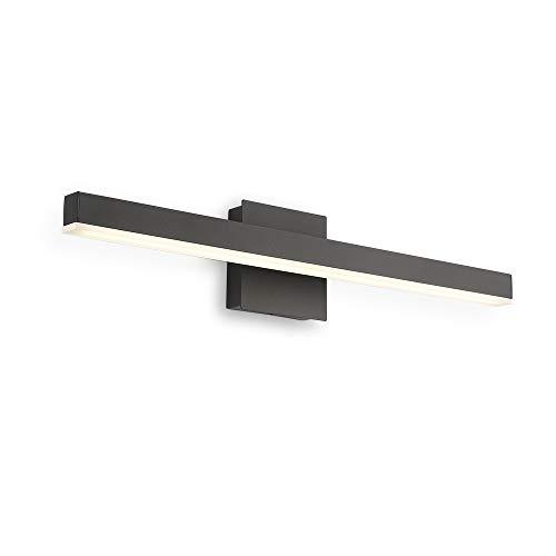 Joossnwell LED Bathroom Vanity Lighting Fixture Morden Bath Light Bar 23.62inch Black Wall Sconce 14W 4000K