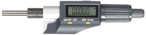 Fowler 54-220-777-1 Xtra-Value II Electronic Micrometer Head, True Inch/Metric Conversion, 0.00005