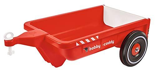 Big - 800056292 - Accessoire Porteur Enfant - Voiture Enfant - Remorque Vélo/Véhicule Enfant Bobby -Caddy - Capacité 25 kilos - Rouge