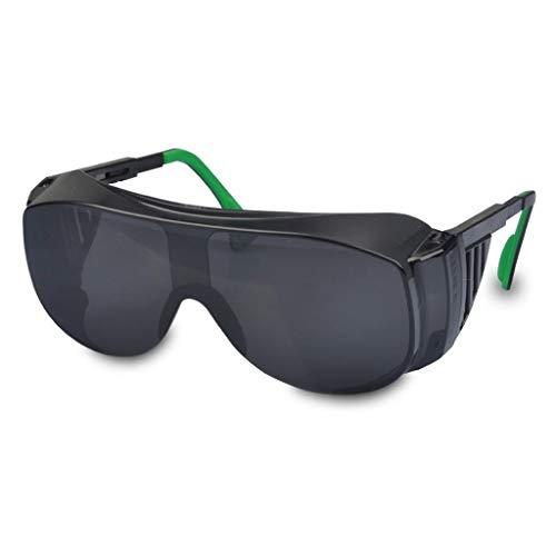 FS Gafas De Soldar, Gafas De Protección De Soldador/Protección Laboral Gafas Antirreflejos Gafas De Sol Antiplazas Máscara De Ojo De Soldadura (Color : Darkness 4.0)